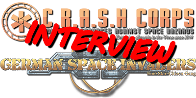 Interview CrashCorps mit German Space invaders