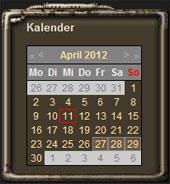 Features Kalender