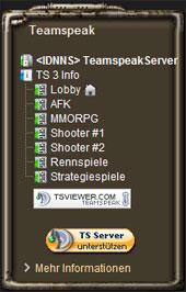 Features Teamspeakviewer